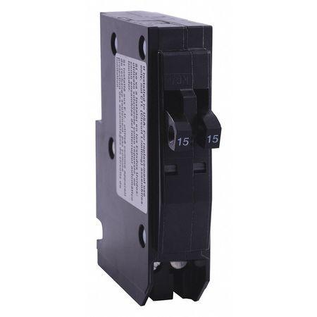 Qwik-Open 1P Tandem Plug In Circuit Breaker 20A 120/240VAC