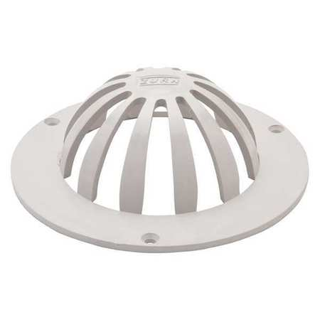 Roof Drains Zurn Amp Drain Dome Plastic 6 In Overall D Sc 1