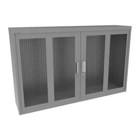 Metal Pegboard Cabinet, 20.41 Sq. Ft.