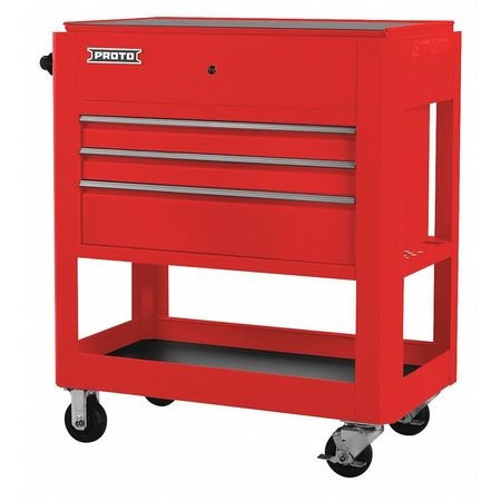 proto utility cart 43 in h 3 drawers j559000 3rd
