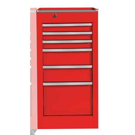 Delicieux Link To Product Side Cabinet, Red, 15 In. W, 6 Drawers