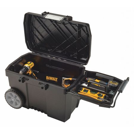 Amazing Portable Tool Box, 88lb., 16 3/8in.H, Black