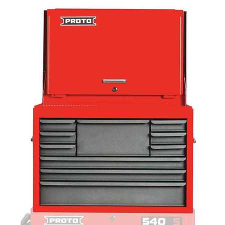 Top Chest 27 in. W 10 Drawers  sc 1 st  Zoro Tools & Proto Top Chest 27 in. W 10 Drawers J542719-10SG-D | Zoro.com