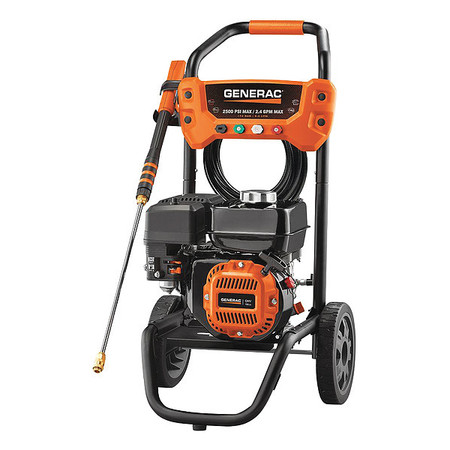 2500 psi 2.4 gpm Cold Water Gas Pressure Washer