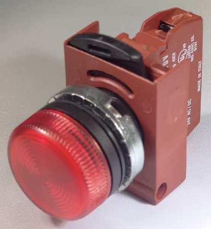 Pilot Light,Orange,Diffused LED