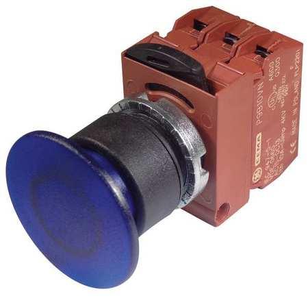 Illum Push Button Operator,22mm,Red