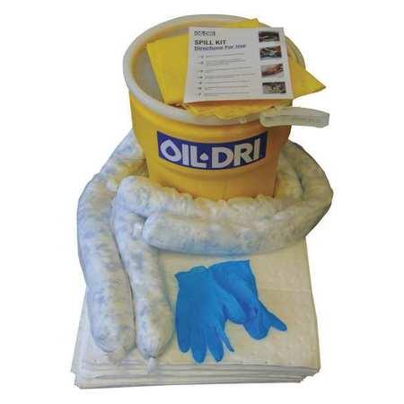 49EL40 Spill Kit, White, 10 gal.