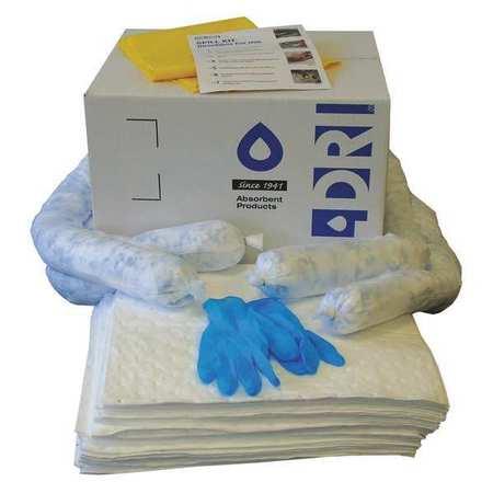 49EL41 Spill Kit Refill, White, 10 gal.