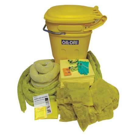 49EL48 Spill Kit, Yellow, 100 gal.