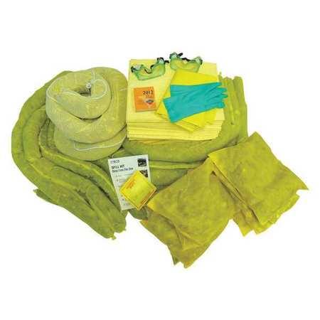 49EL49 Spill Kit Refill, Yellow, 100 gal.