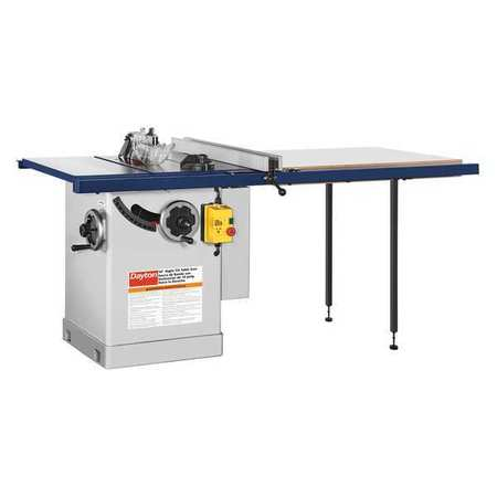 Cabinet Table Saw, 10 in. Blade -  DAYTON, 49G995