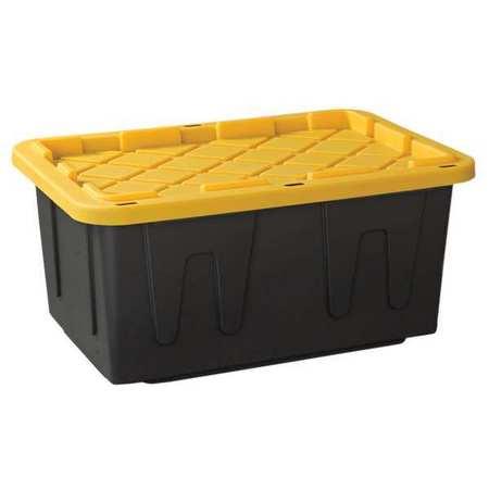 Zoro Select Storage Tote Polypropylene Smooth 27gal