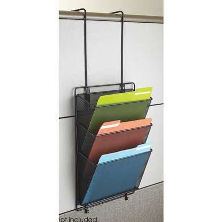 wall file organizer 4 in d x 18 in h