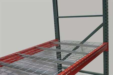 Worldwide Material Handling Decking, Wire Mesh, 52 in., 44 in., 2500 ...