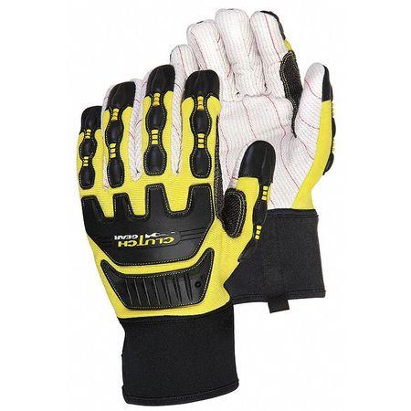 Corded Cotton Mechanics Gloves