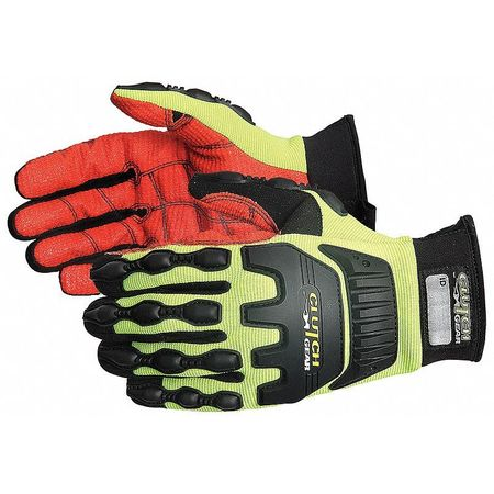 Black/Yellow Mechanics Gloves