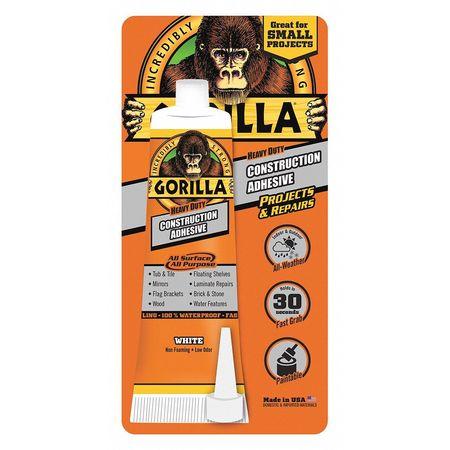 Gorilla Glue Adhesive 2 5 Oz Construction Application 8020001 Zoro Com