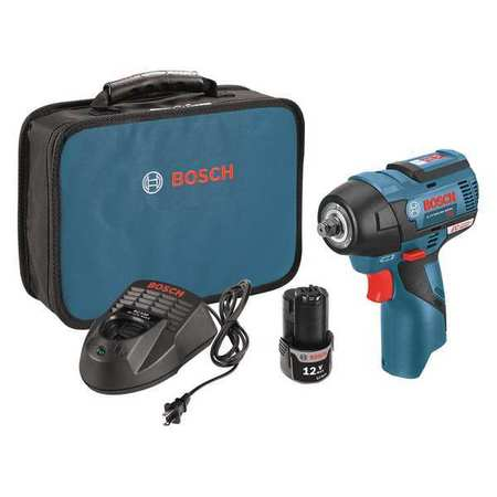 Bosch 12v 3 8 Cordless Impact Wrench Charger Carry Case Ps82 02 Zoro