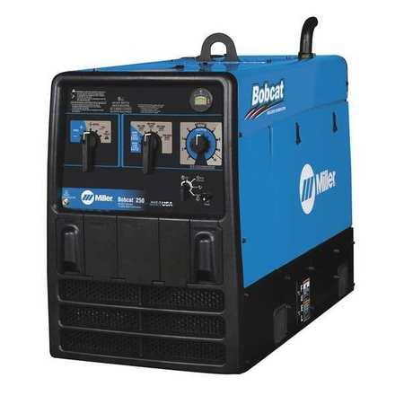 Miller Electric Engine Driven Welder, Bobcat 250 Series, Gas 907500 | Zoro.com