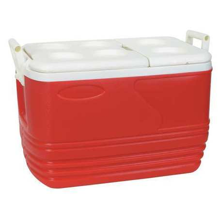 Full Size Chest Cooler, 60 qt., Red