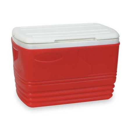 Full Size Chest Cooler, 32 qt., Red