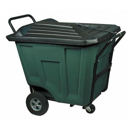 Cube Truck, 7/16 cu. yd., 450lb. Cap, Green
