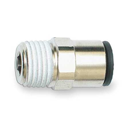 Male Connector, Tube 5/16, Pipe 1/4, PK10