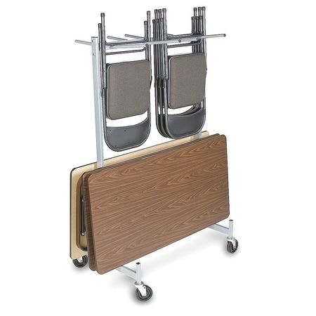 Value Brand Folding Chair And Table Storage Cart 500 Lb Load Capacity 915L