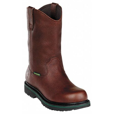 Wellington Boots, Pln, Mens, 13, Brown, PR