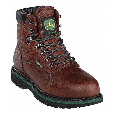 Work Boots, Stl, Mn, 11W, Brn, PR