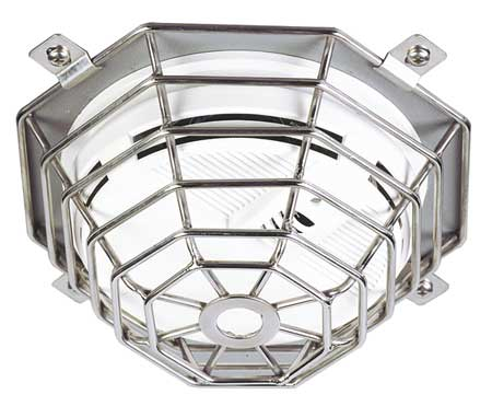 Smoke Detector Guard, SS Wire, Flush