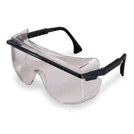 Honeywell Clear Safety Glasses,  Anti-Fog,  OTG