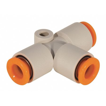 Adapter, 3/16 In., Tube, Polybutylene