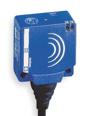 Rctngulr Proxmity Sensr, Indctv, 2 Wire, NO