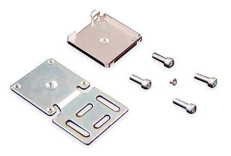 Size C Flat Rectangular Mounting Bracket