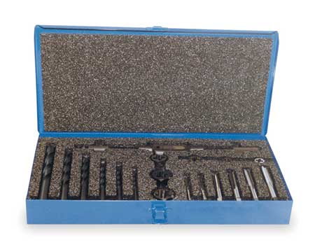 Tap,  Die,  & Drill Set, M6 to M12, 17 pc