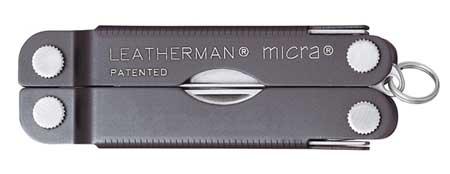 Micra Scissor Multi-Tool, Gray, 10 Tools