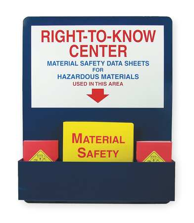 MSDS Center Board Kit, Aluminum