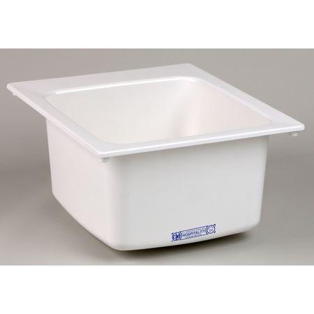 Mustee Drop In Utility Sink Fiberglass White Bowl Size