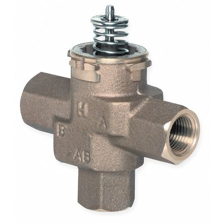 Three-Way 1/2 In, NPT, VC Valve Assembly