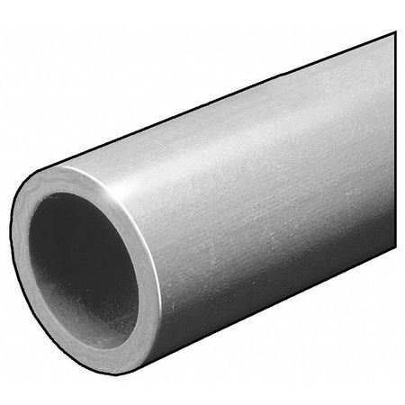 RD Tube, ISOFR, Gry, 1 OD x1/8 In Wall, 5 Ft
