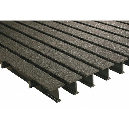 Pedestrian Pultruded Grating, Span 5 ft.