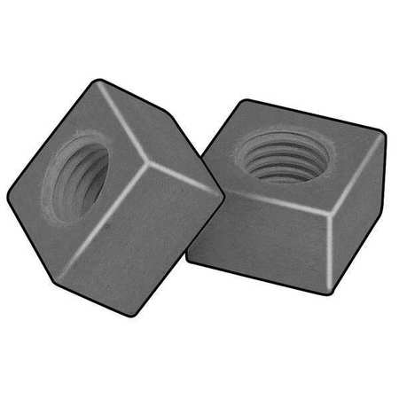 "1/2""-13 Vinyl Ester Resin Plain Finish Square Nut - Regular"