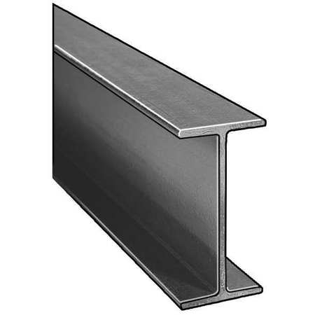 I-Beam, ISOFR, Gray, 4x2 In, 1/4 In Th, 10 Ft