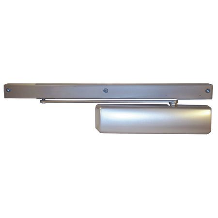 Hydraulic Door Closer, Pull, Aluminum