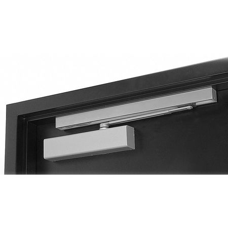 Hydraulic Door Closers, Push, Aluminum