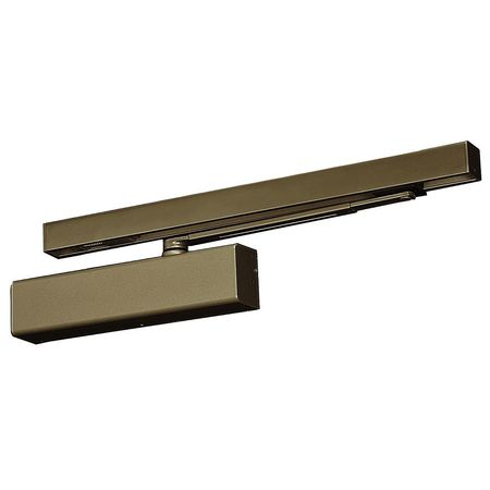 Hydraulic Door Closer, Dark Bronze, Pull