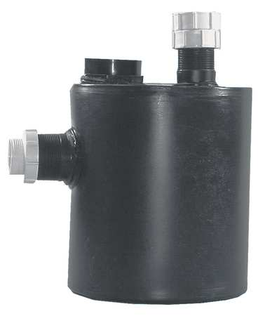 Dilution Trap And Tank, Two Inlets, Poly