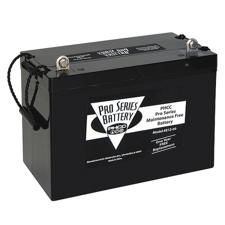 AGM Battery, 12 VDC,  Max Amps 90
