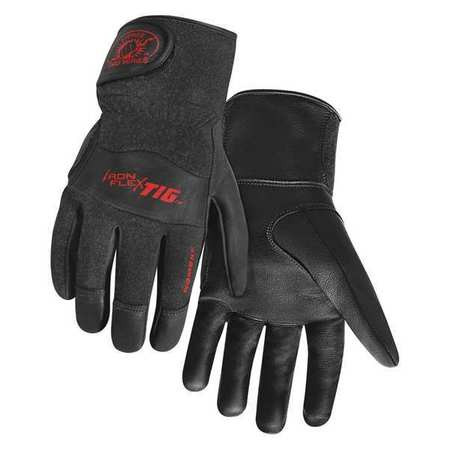 Welding Gloves, TIG, L, 9 In. L, PR